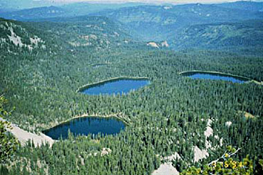 Sky Lakes In Southern Oregon
