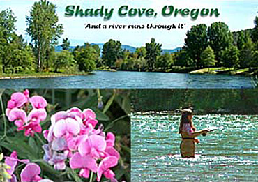 Shady Cove Oregon In Southern Rogue Valley